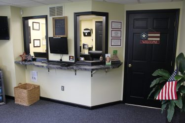 cirocco dental center receptionist's desk