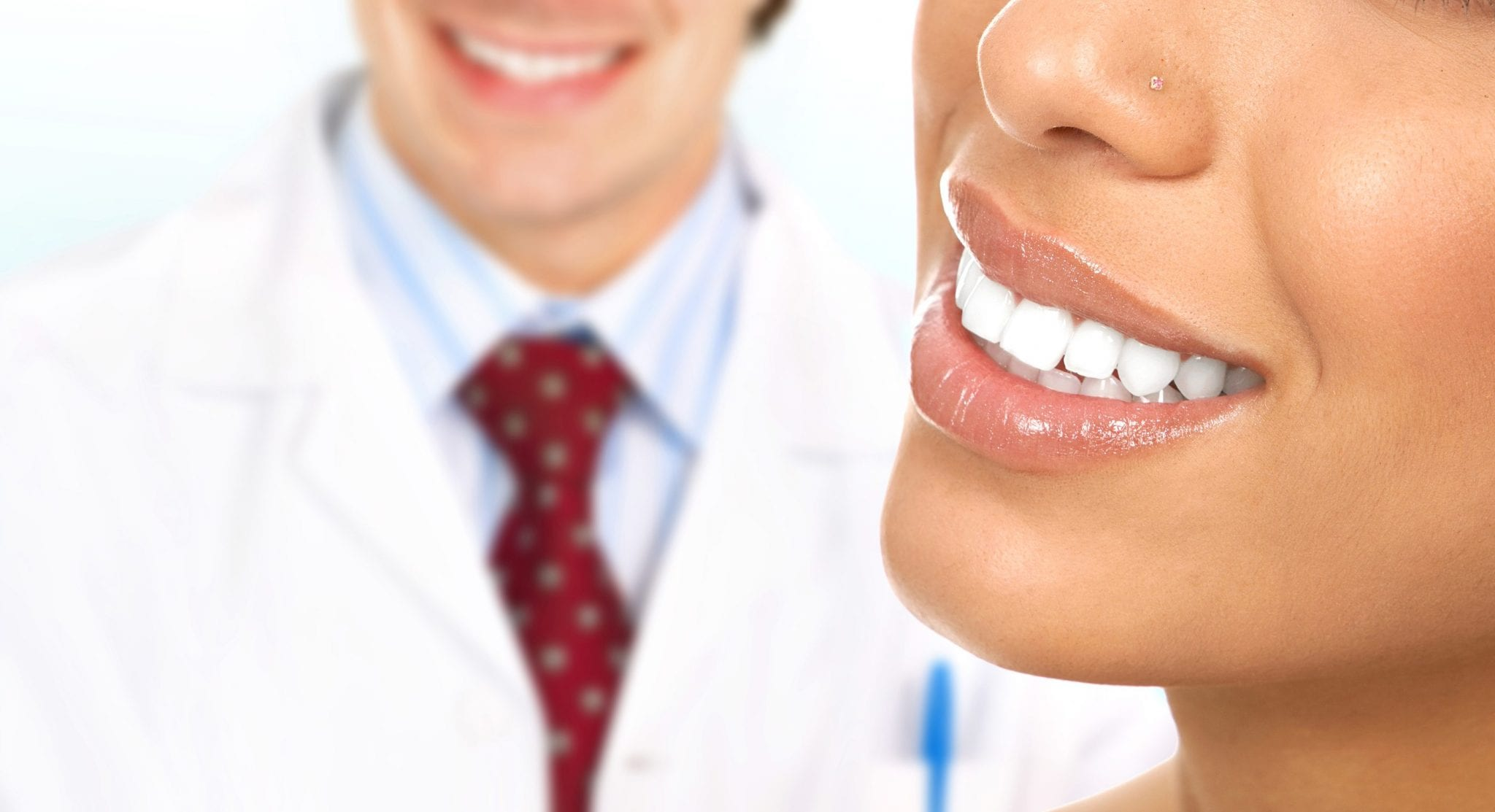 Beautiful woman teeth. Dentists. Dental clinic health.